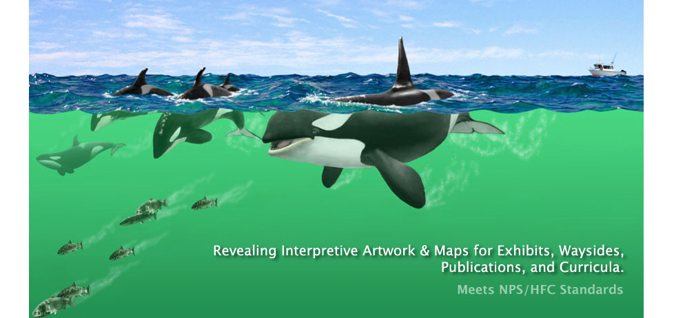 Interpretive art & maps